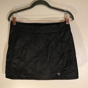 Mountain hardwear quilted skirt